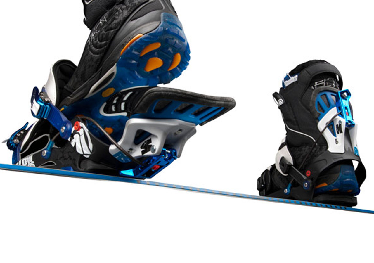Outdoor Product Flow Bindings by Pillar Product Design