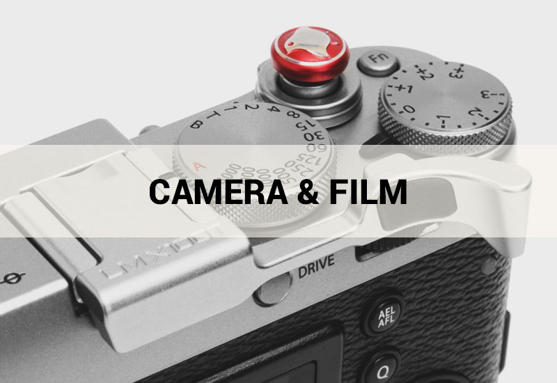 Camera and Film Industrial Design by Pillar Product Design