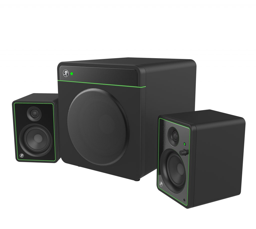 Mackie Audio Subwoofer and Speakers Industrial Design Concept